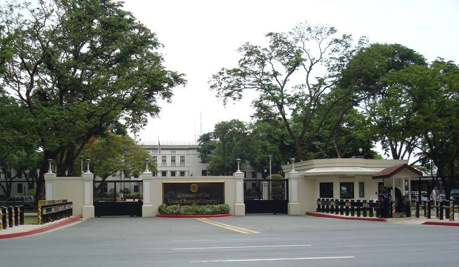 The Definitive Guide To Getting Married In The Philippines - Map location of us embassy manila