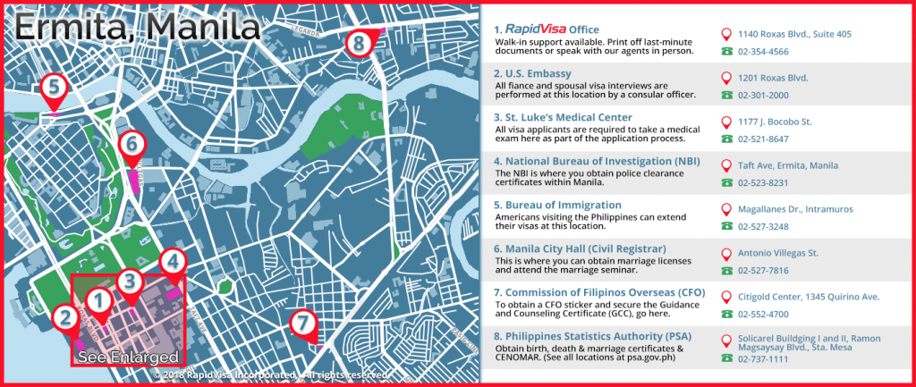 rapidvisa manila locations of interest to us visa applicants in manila