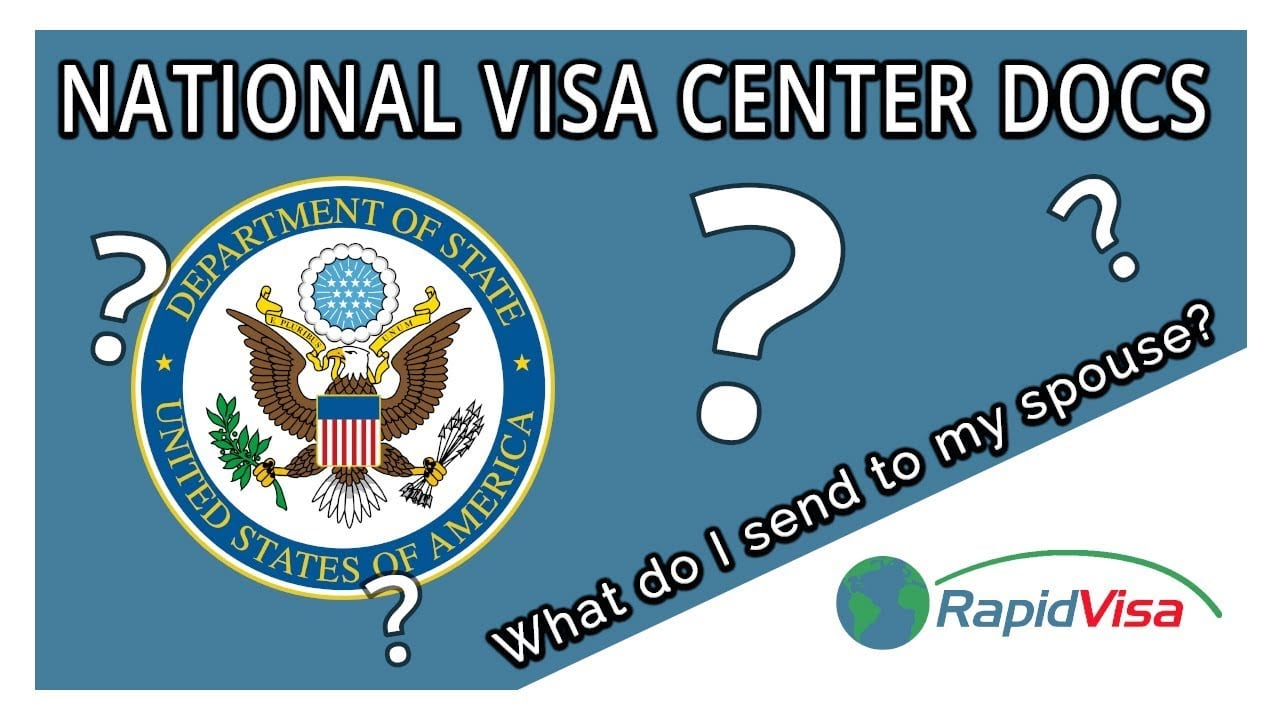 What nvc documents do i send to my spouse for National passport processing center