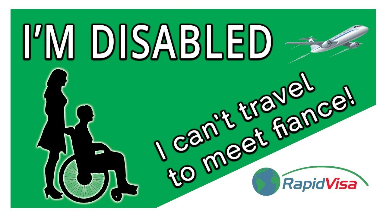 Disabled travel to meet fiancee