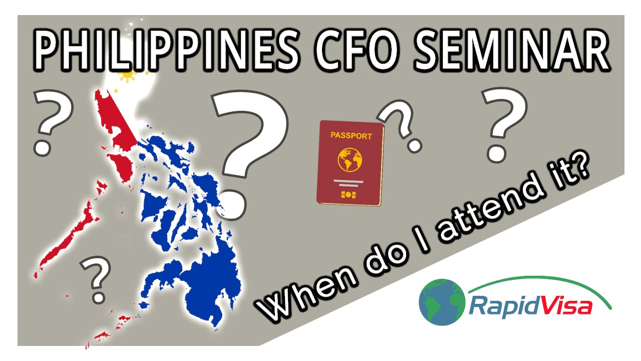 When Do I Attend Philippines CFO Seminar?