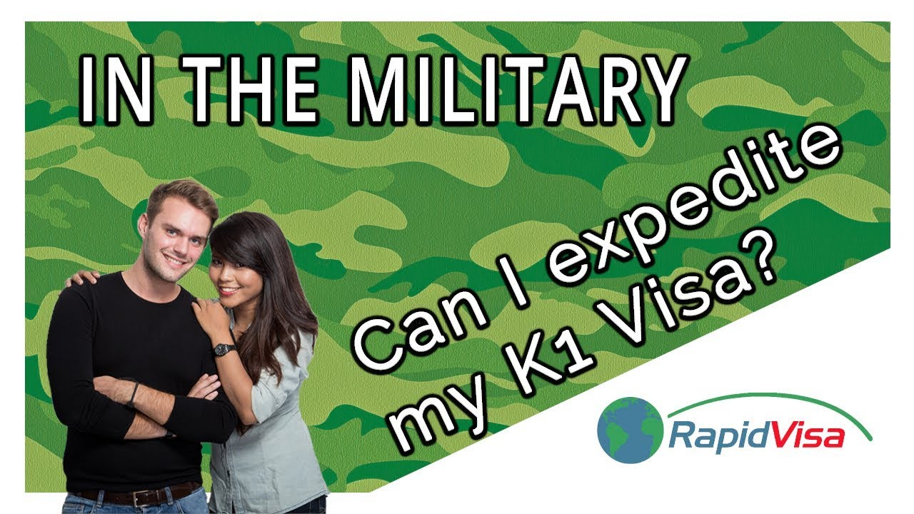 Can I Expedite My K1 Fiancé Visa if I'm in the Military?