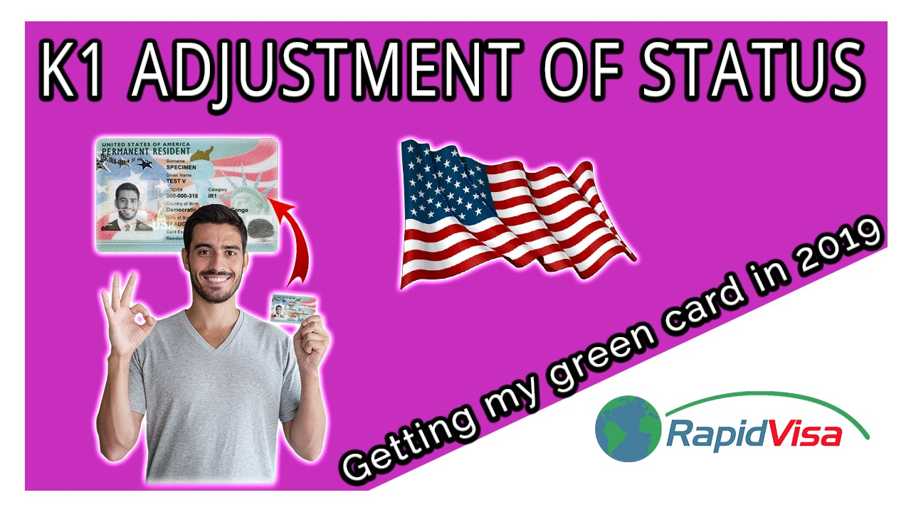 K1 Adjustment of Status - Getting a Green Card After Entering on K1 Visa