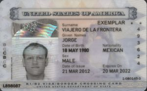 Border Crossing Card Bcc Rapidvisa