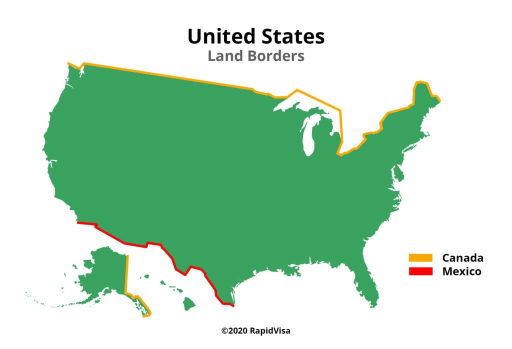 United States Land Border